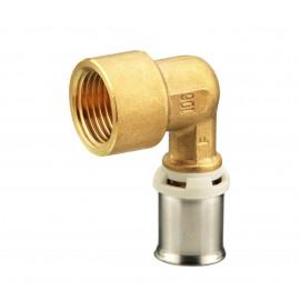 Alupex pressnurk 16 mm 3/4 sisekeere