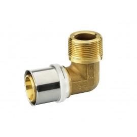 Alupex pressnurk 20 mm 1 toll väliskeere